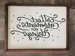 Collect Moments Inspirational Vinyl Letters Decals Family Wa