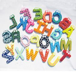 Colorful Cartoon 26 Letters Alphabet Wall Stickers For Kids