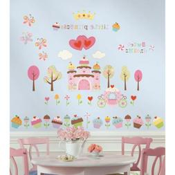 CUPCAKE Land wall stickers 56 sweet decals princess party ro