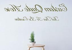 Custom Create Your Own Quote Personalized Wall-Vinyl Decals