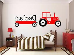Custom product for personalized Name interesting Tractor Vin