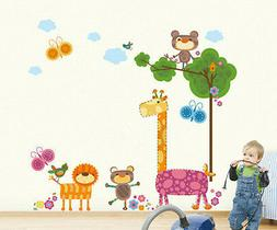 CUTE ANIMAL FARM Kids Wall sticker for your home or Kids roo