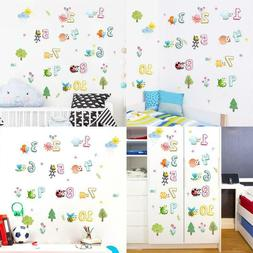 Cute Animals With Arabic Numbers Wall Stickers For Kindergar