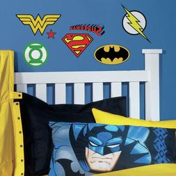 RoomMates DC Comics® Superhero Logos Peel & Stick Wall D