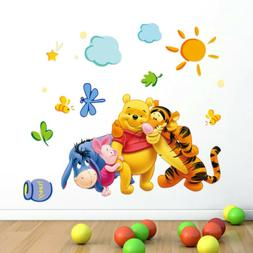 Decor The Pooh Wall Decals Kids Bedroom& Baby Nursery Sticke