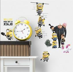 DESPICABLE ME 3 MOVIE WALL DECALS 17 BiG Minions Gru Sticker