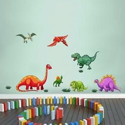 Dinosaurs Vinyl Wall Stickers For Kids Rooms Home Decor Deca
