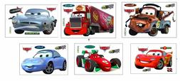 Disney 2017 Cars McQueen Mater Mack removable Wall Stickers
