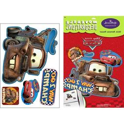 DISNEY CARS MATOR Wall Decals Room Decor Stickers TOW TRUCK