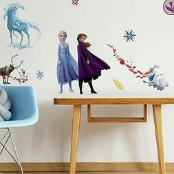 Disney FROZEN 2 II wall stickers 21 decals Anna Elsa Olaf Ar