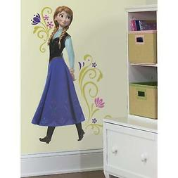 DISNEY FROZEN Movie Wall Decals ANNA Peel and Stick Giant Wa
