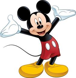 """Disney """"Mickey & Friends"""" Mickey Mouse Wall Decal Cutout 36."""