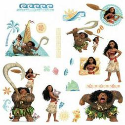 DISNEY MOANA and Friends  wall stickers 28 decals Maui room