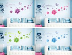 DIY Floral Flower Removable Wall Art Sticker Vinyl Decals Ro