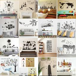 DIY Wall Stickers Mlut-Types Removable Art Vinyl Quote Decal