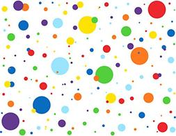 MozamyCreative Dots Wall Decals Primary Colors Dots Decals