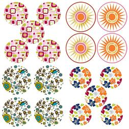 WALL POPS DOTZ DECALS - Modern Colors Patterns Circle Accent