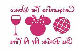 Drink Epcot Disney Decal Sticker Best Gift Car Decal ALL DEC