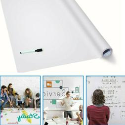 Removable Dry Erase Boards Wall Whiteboard Draw Sticker Scho