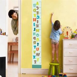 English Alphabet Cartoon Letters Wall Stickers For Kids Room