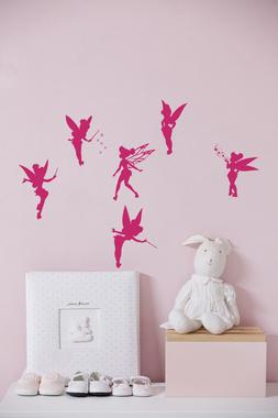 Fairy Wall Decals for Girls Room Vinyl Sticker Home Decor Nu