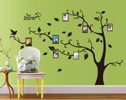 Family Photo Frame Tree Wall Stickers Removable Wall Decor D