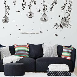 Family Tree Removable Quote Art Decor Vinyl Wall Sticker Mur