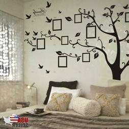 Large Family Tree Wall Decal Sticker Removable Vinyl Photo P