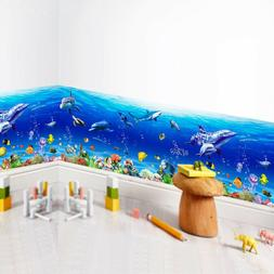 fish shark dolphin wall stickers 3d decals