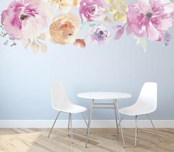 Floral Shapes  Decorative  Wall Decal Decor Stickers Vinyl R
