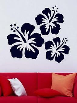 Floral Wall Stickers For Kids Rooms PVC Wall Decals Home Dec