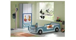 Flower Fairy Wall Stickers Home Decor Vinyl Art Decals For G