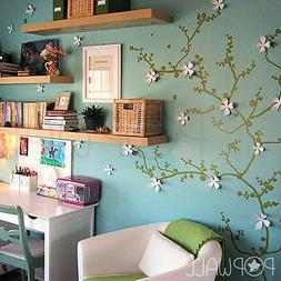 Flower Tree Branch Wall Decal Wall sticker for home office &