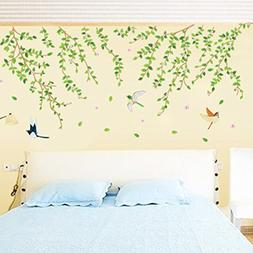 Flowers Butterfly Wall Stickers Cartoon Animals Heart Shape