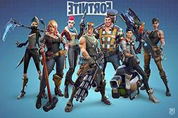 Fortnite Poster on Silk Battle Royale Game Wall Decals Decor