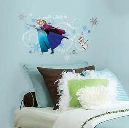 RoomMates Frozen Custom Headboard Featuring Elsa, Anna and O