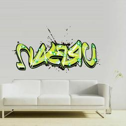 Full Color Wall Decal Sticker Kids Graffiti Words Quote Sign