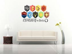 Game Of Thrones Wall Decals Vinyl Sticker For Room Home Bedr