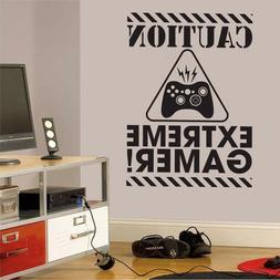 Gamer Wall Decal Sticker Vinyl Wall Sticker For Kids Room Bo