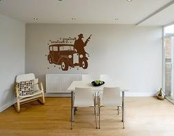 Gangster - highest quality wall decal stickers