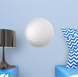 Golf Ball Wall Decal Removable Sports Wall Sticker for Boys