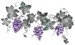 Large Grape Vine Wall Stencil SKU #2933 by Designer Stencils