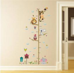 Growth Height Chart Removable Wall Decal Kids Baby Home Room