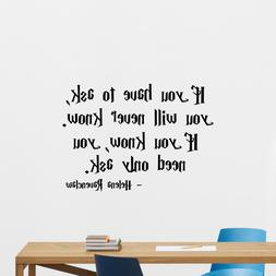 Harry Potter Helena Ravenclaw Quote Wall Decal Vinyl Sticker