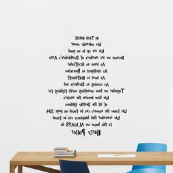 Harry Potter Quotes Wall Decal Movie Poster Vinyl Sticker Ho
