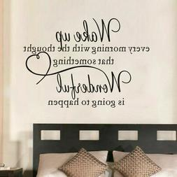 heart family Wonderful bedroom Quote Wall Stickers Art Room