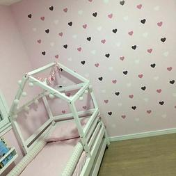 Heart Wall Sticker For Kids Room Baby Girl Room Decorative S