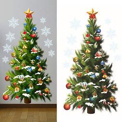 Home Christmas Tree Mural Wall Decals Art Stickers Removable