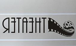 Home Theater Wall Decal removable sticker mural decor room a