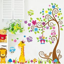 Huge Family Tree Photo Frame Wall Decals Removable Wall Deco